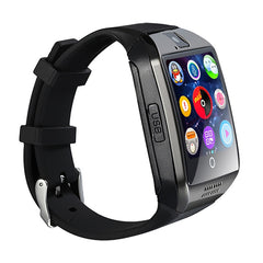 Q18 Smart Wrist Watch Bluetooth Smartwatch Phone with Camera TF/SIM Card Slot GSM Anti-lost for Android