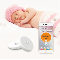 Baby Thermometer Monitor iFever Intelligent Wearable Safe Thermometer Bluetooth Baby Monitor Health Care Thermometers
