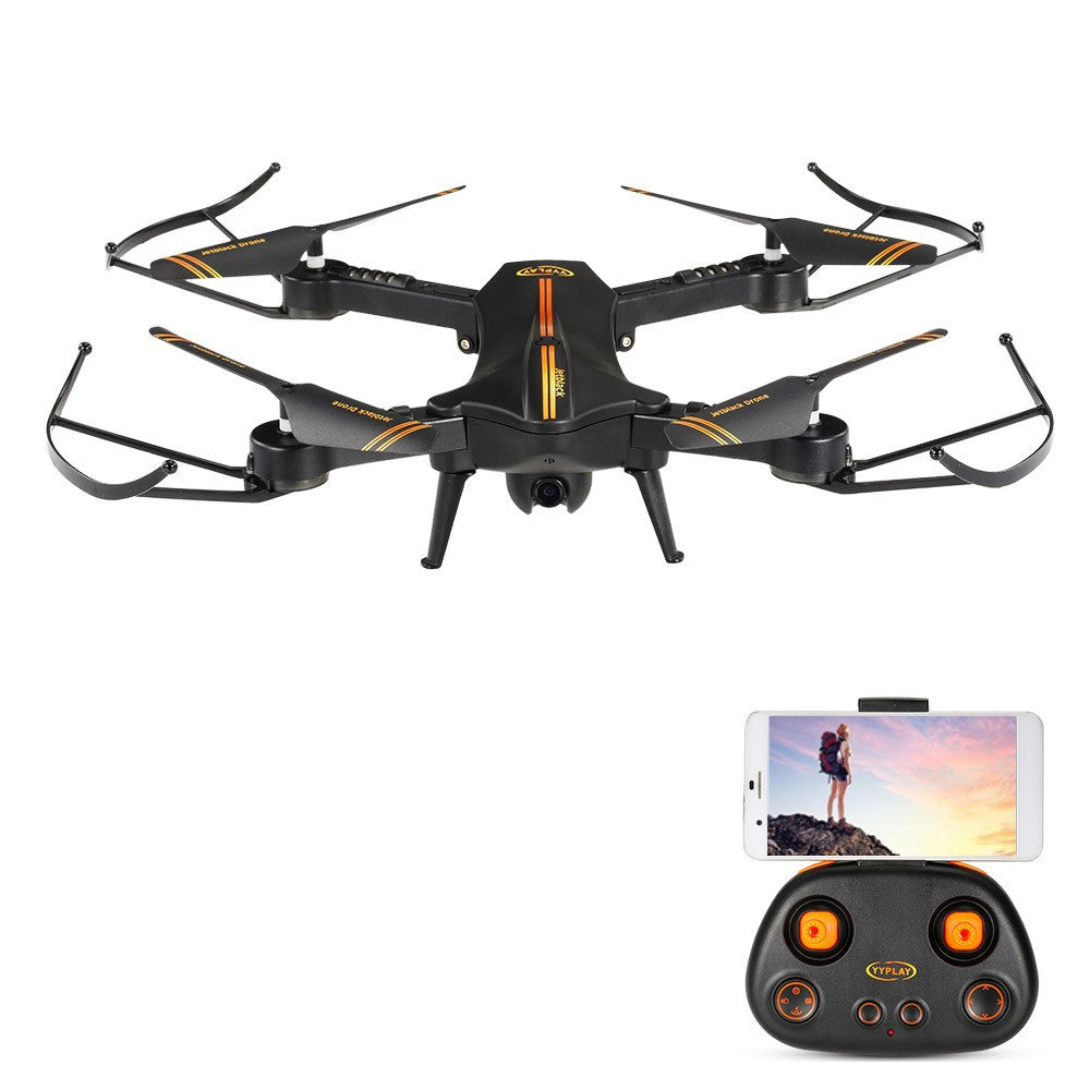 Jetblack Selfie Drone Wifi FPV RC Quadcopter