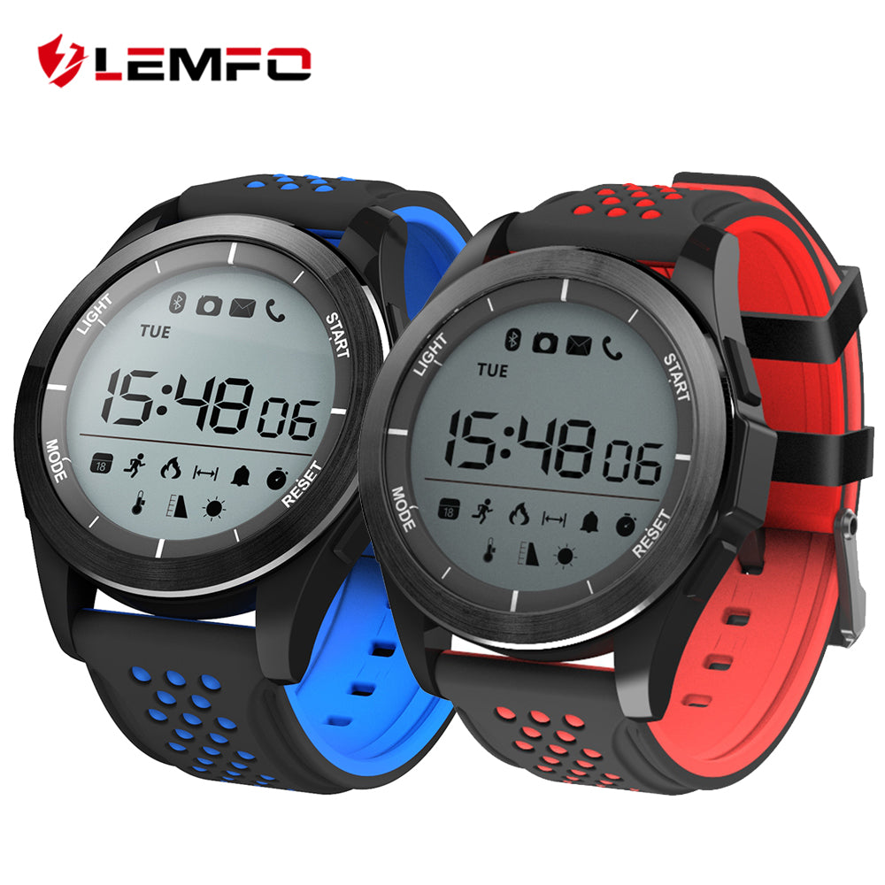 LEMFO F3 Smart Watch Pedometer Wrist Wearable Device Smart Watch Waterproof IP68 Swimming Long Standby for IOS Android Phone
