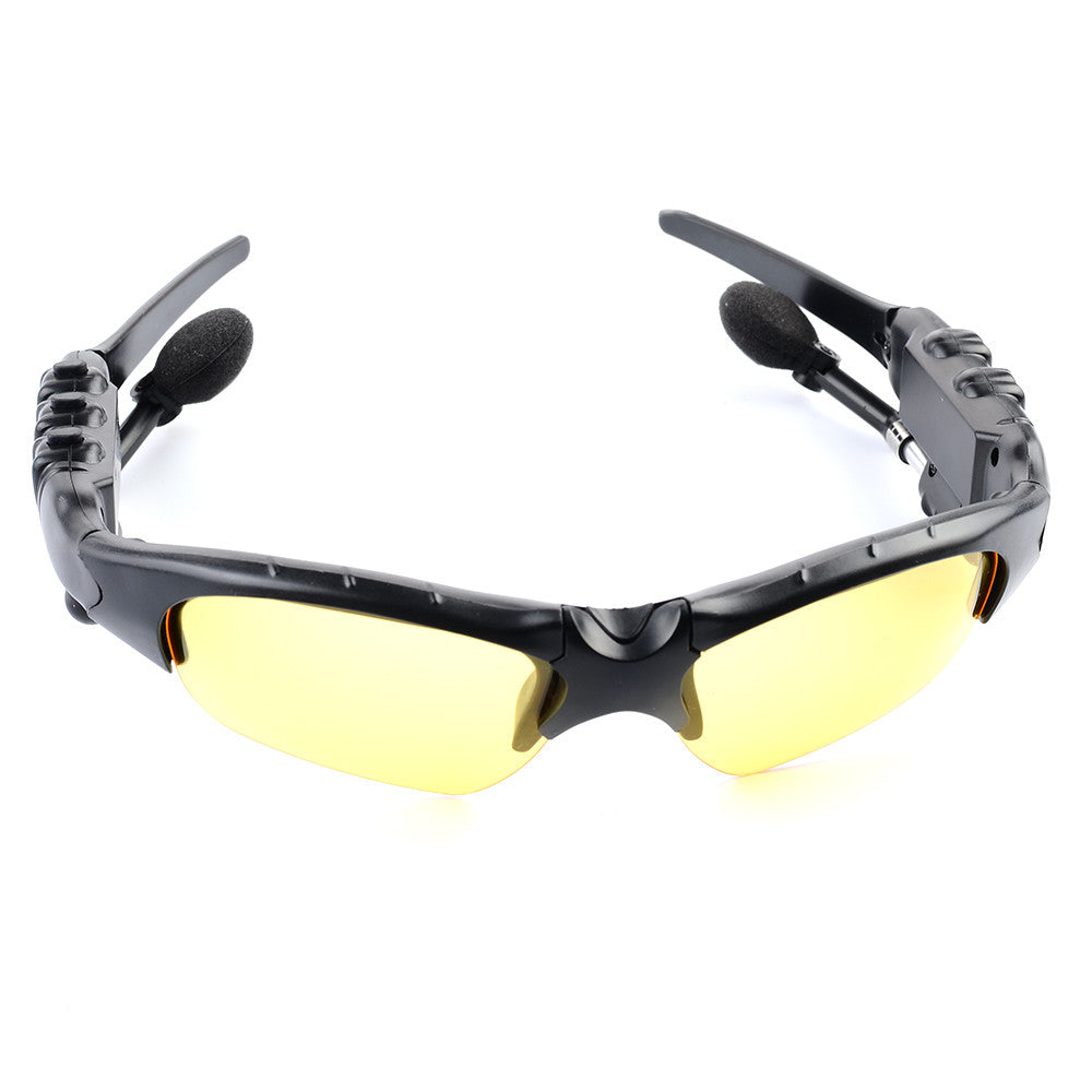 On-ear Wireless Bluetooth Rotatable Stereo Sports Sunglasses Headphone