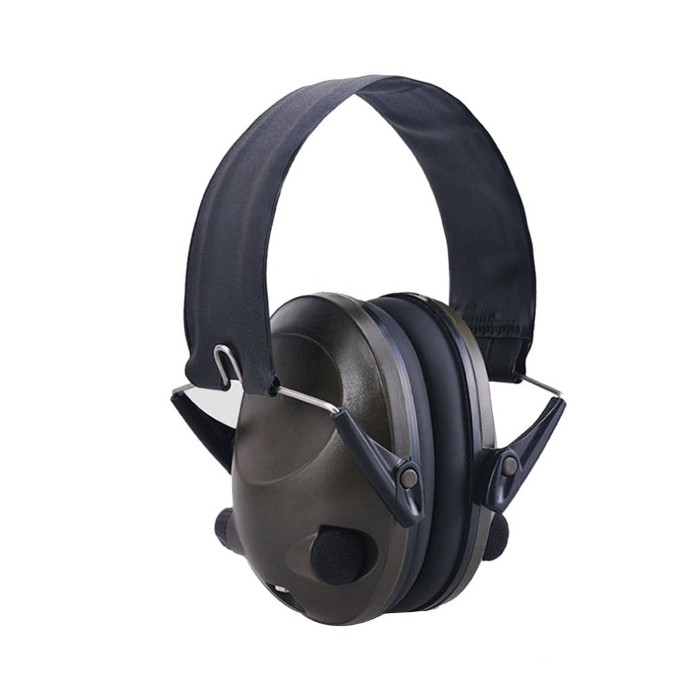 TAC 6S Foldable Design Anti-Noise Noise Canceling Tactical Shooting Headset Soft Padded Electronic Earmuff for Sport Hunting New