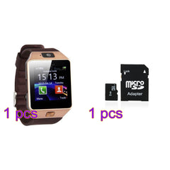 Bluetooth Smart Watch DZ09 Smartwatch GSM SIM Card With Camera for Android IOS Phones