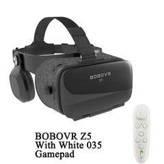 BOBOVR Z5 120 FOV VR Virtual Reality Glasses Remote 3D Android Cardboard VR 3D Headset Stereo Helmet Box for Smartphones 4.7-6.2