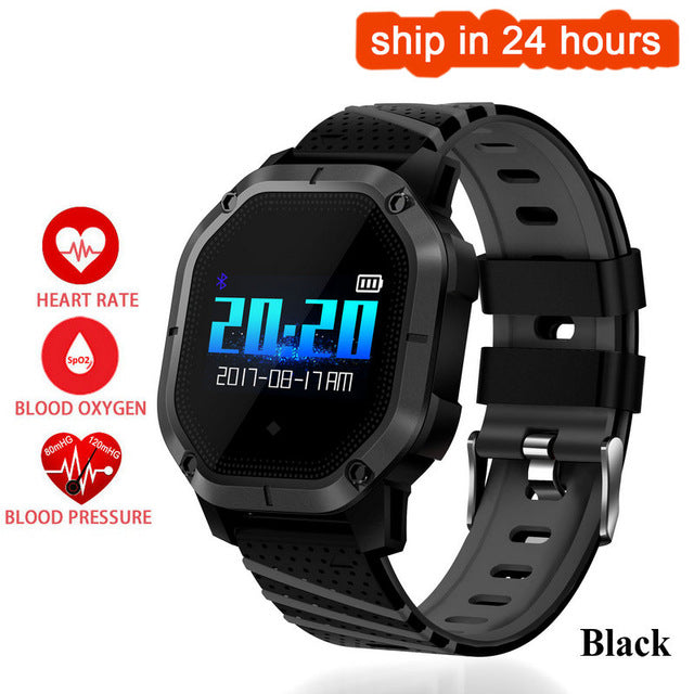 Hold Mi K5 Smart watch IP68 Waterproof Multiple Sports Modes Swimming Heart Rate Monitor Blood Oxygen Clock K5 Smart Bracelet