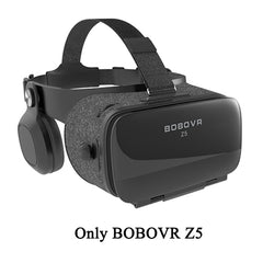 Original BOBOVR Z5 Immersive Virtual Reality Headset Stereo 3D Glasses VR Cardboard Helmet Box 120 FOV for 4.7-6.2' Smartphone