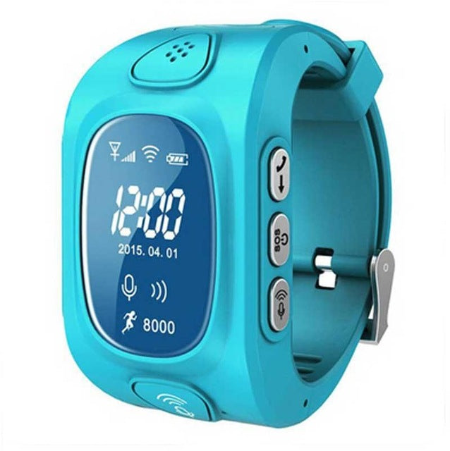 2018 New GPS Tracker Watch For Kids Swim touch screen Waterproof SOS Emergency Call Location Wearable Devices for Smart DF25