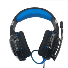 Super Bass Headphhones Noise Cancelling Headsets 3.5mm Gaming Headphones PC Gamer Stereo Headset With Mic Led For Computer Phone