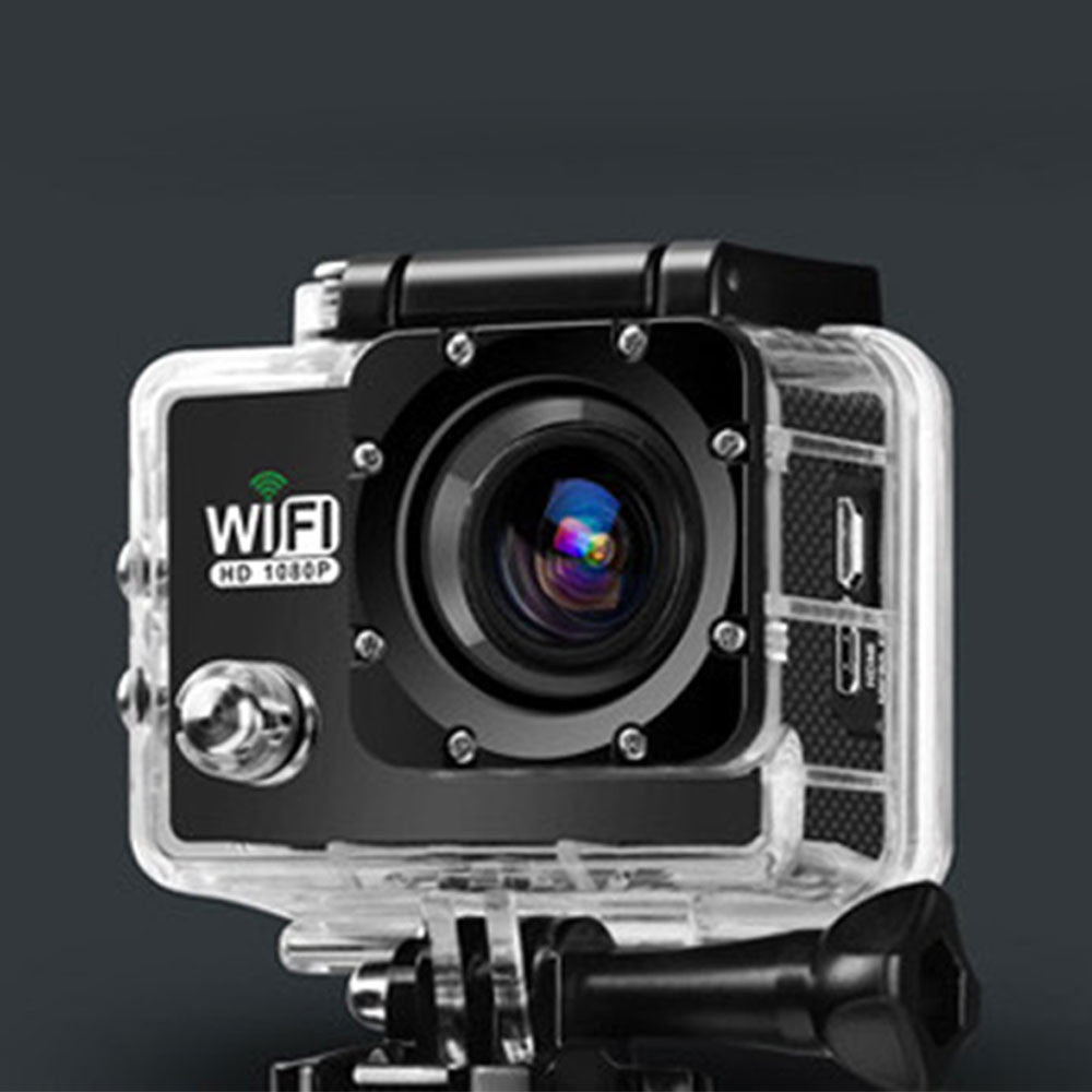 Sports Camera Action Camera Waterproof Swimming Hiking Sport Action Camera Wifi IPS Diving Remote Control