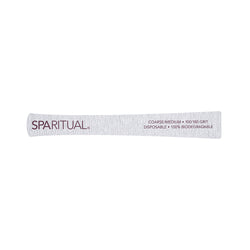 Manicure and Pedicure Essentials - SPARITUAL - 100/180 GRIT ECO FILE COURSE/MEDIUM (5 Pack)