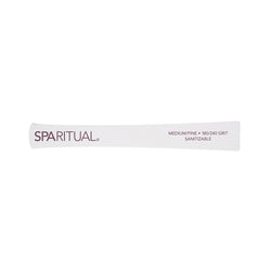 Manicure and Pedicure Essentials - SPARITUAL - 180/240 GRIT SANITIZABLE ECO FILE MEDIUM/FINE (2 Pack)