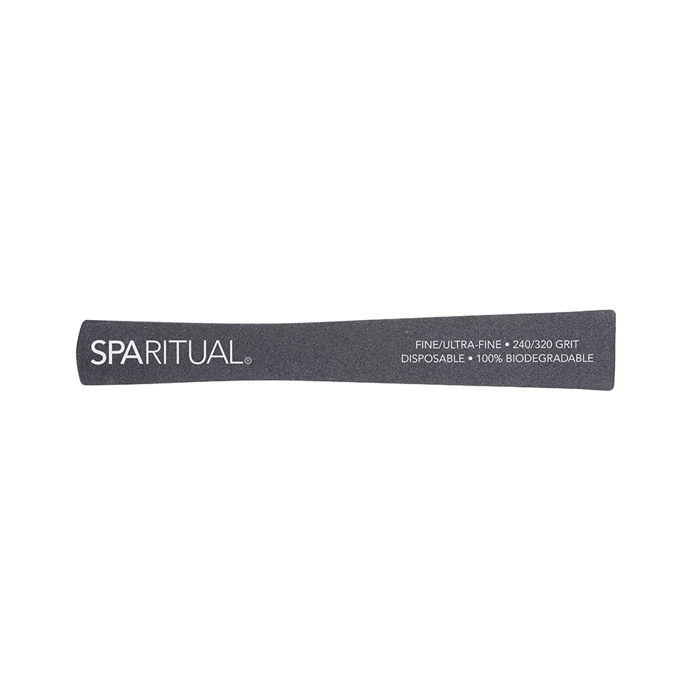 Manicure and Pedicure Essentials - SPARITUAL - 240/320 GRIT ECO FILE FINE/ULTRA-FINE (5 Pack)
