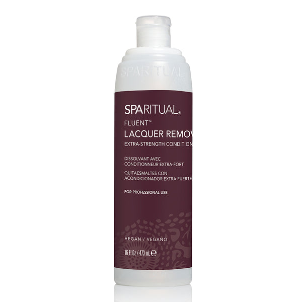 Manicure and Pedicure Essentials - SPARITUAL - FLUENT® EXTRA STRENGTH CONDITIONING LACQUER REMOVER