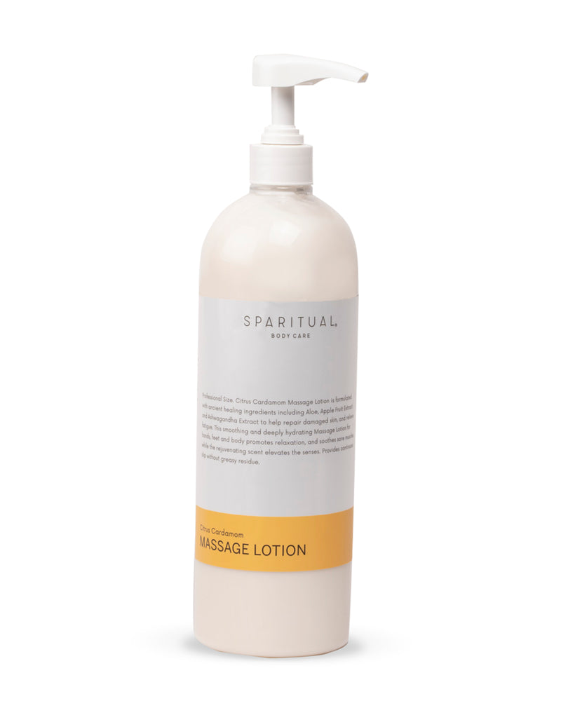 Body Care - SPARITUAL - Massage Lotion