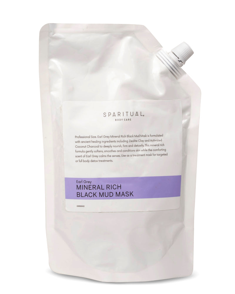 Body Care - SPARITUAL - Mineral Rich Black Mud Mask