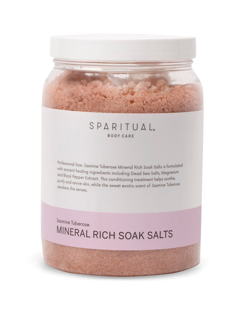 Body Care - SPARITUAL - Mineral Rich Soak Salts
