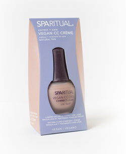 [product_type] - SPARITUAL - CC Crème - Natural Tan