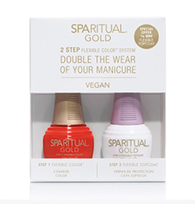GOLD 2-Step Color - SPARITUAL - LAST TANGO GOLD DUO KIT
