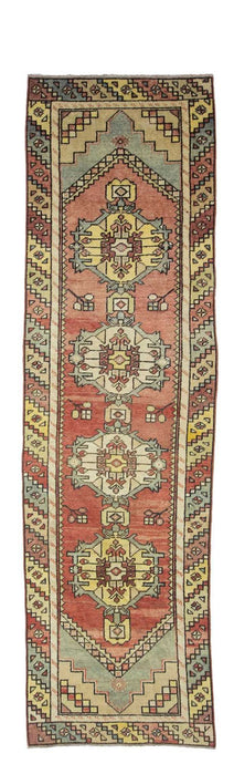 3x10 Old & Vintage Turkish Area Runner-turkish_rugs-oriental_rugs-kilim_rugs-oushak_rugs