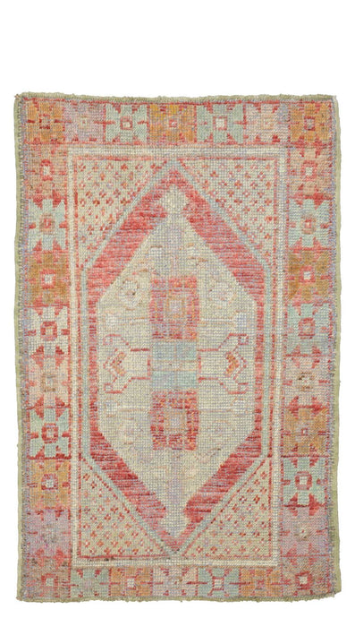 3x4 Old & Vintage Turkish Area Rug-turkish_rugs-oriental_rugs-kilim_rugs-oushak_rugs