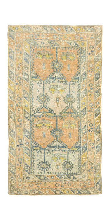 4x7 Old & Vintage Turkish Area Rug-turkish_rugs-oriental_rugs-kilim_rugs-oushak_rugs