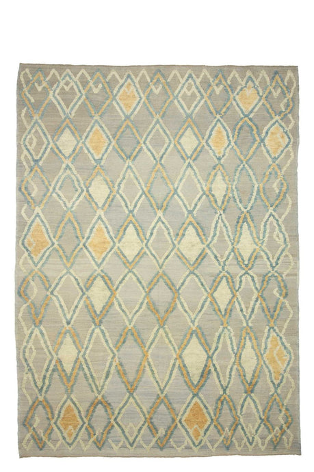9x13 Colorful Modern Turkish Area Rug-turkish_rugs-oriental_rugs-kilim_rugs-oushak_rugs