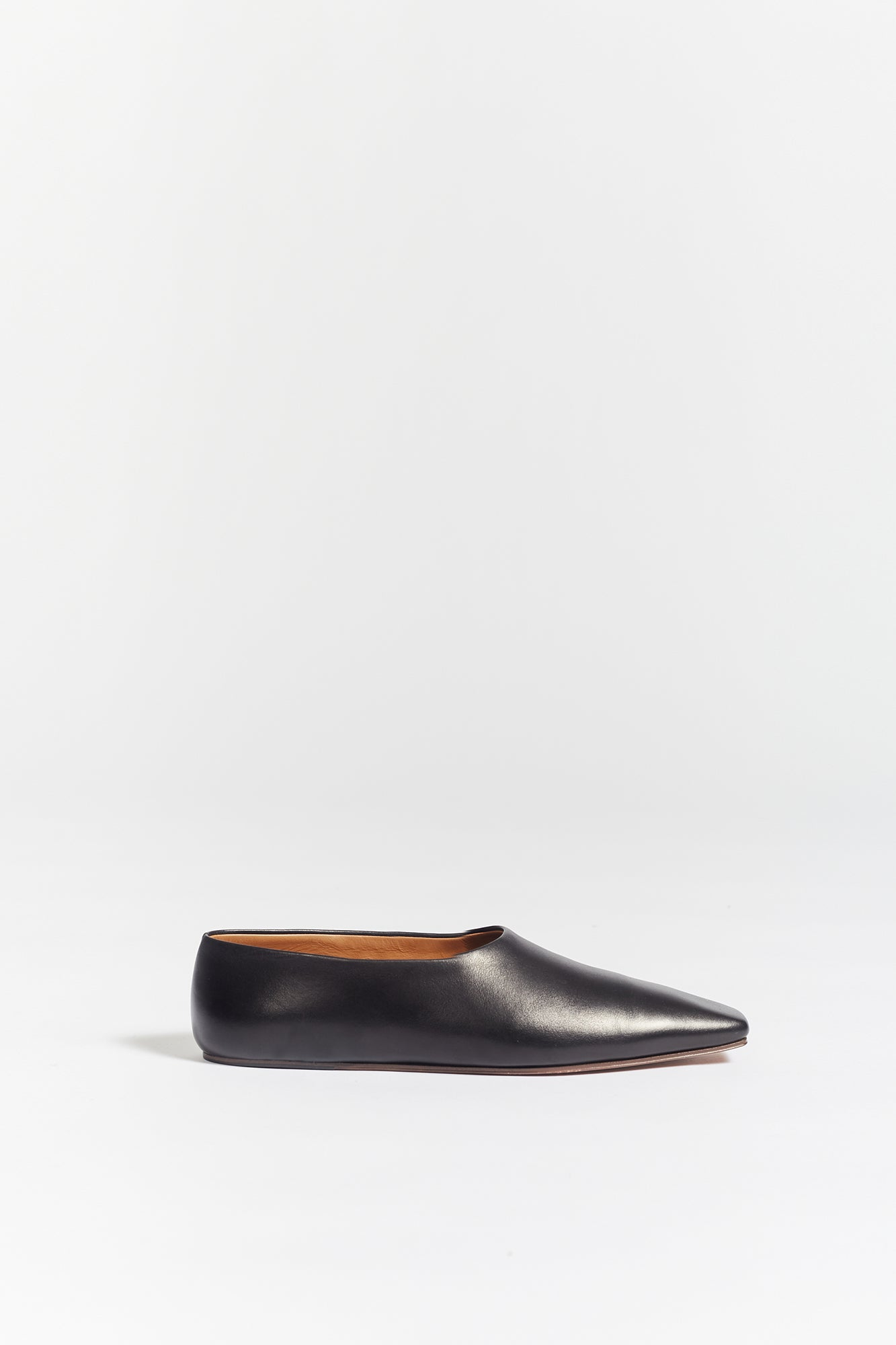 The Row Square Toe Flat Pump