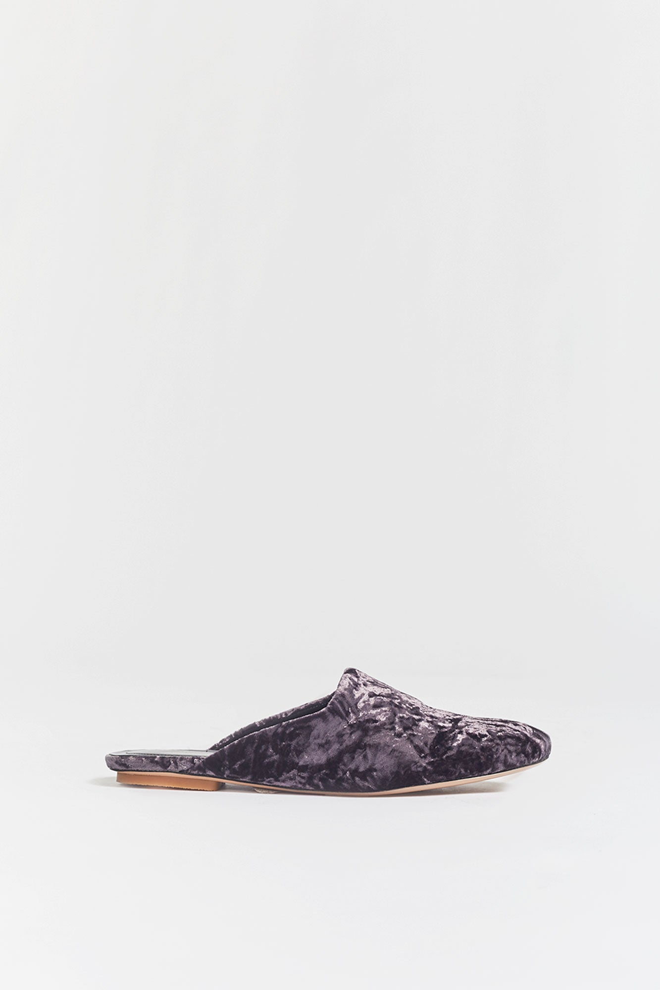 Dries Van Noten Velvet Mules