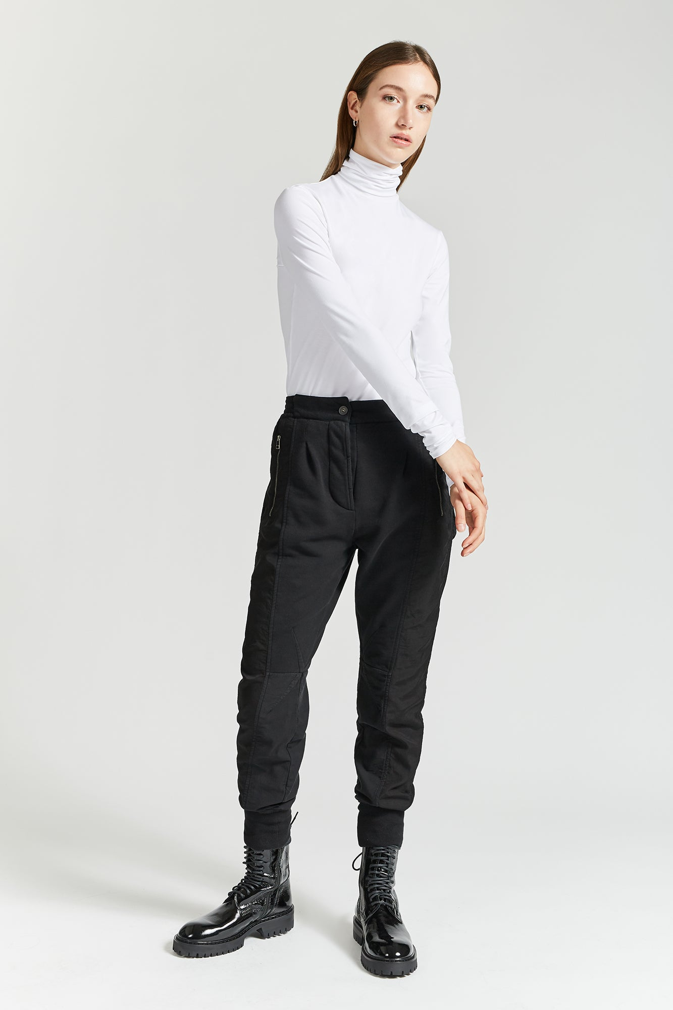 Haider Ackermann White Kumla Turtleneck
