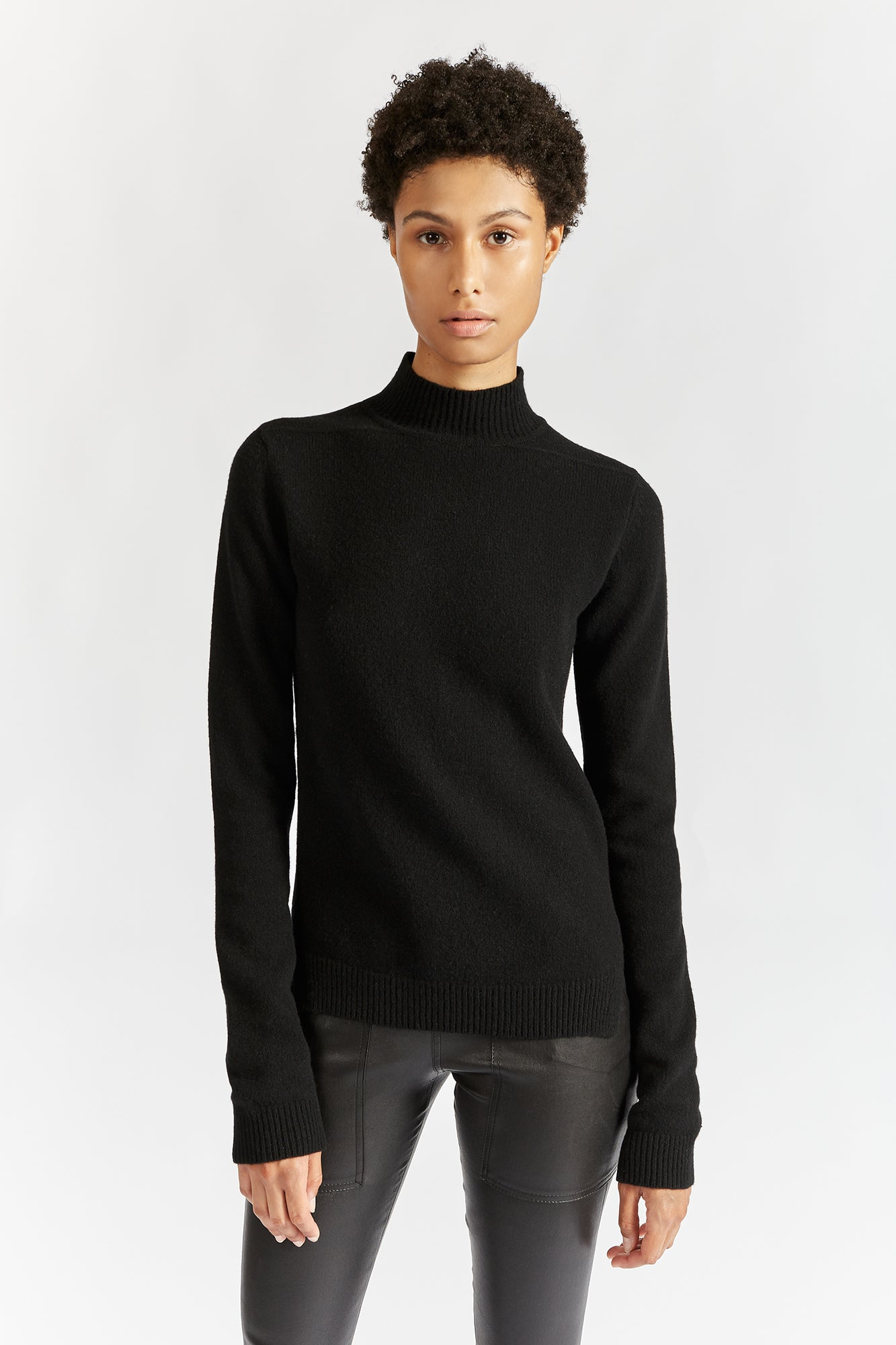 Rick Owens Turtle Neck Knit