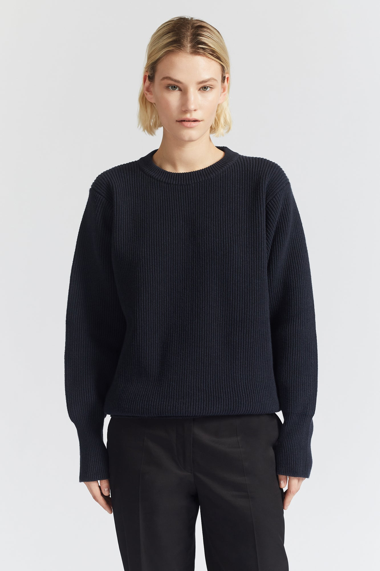 Jil Sander CN Sweater Dark Blue