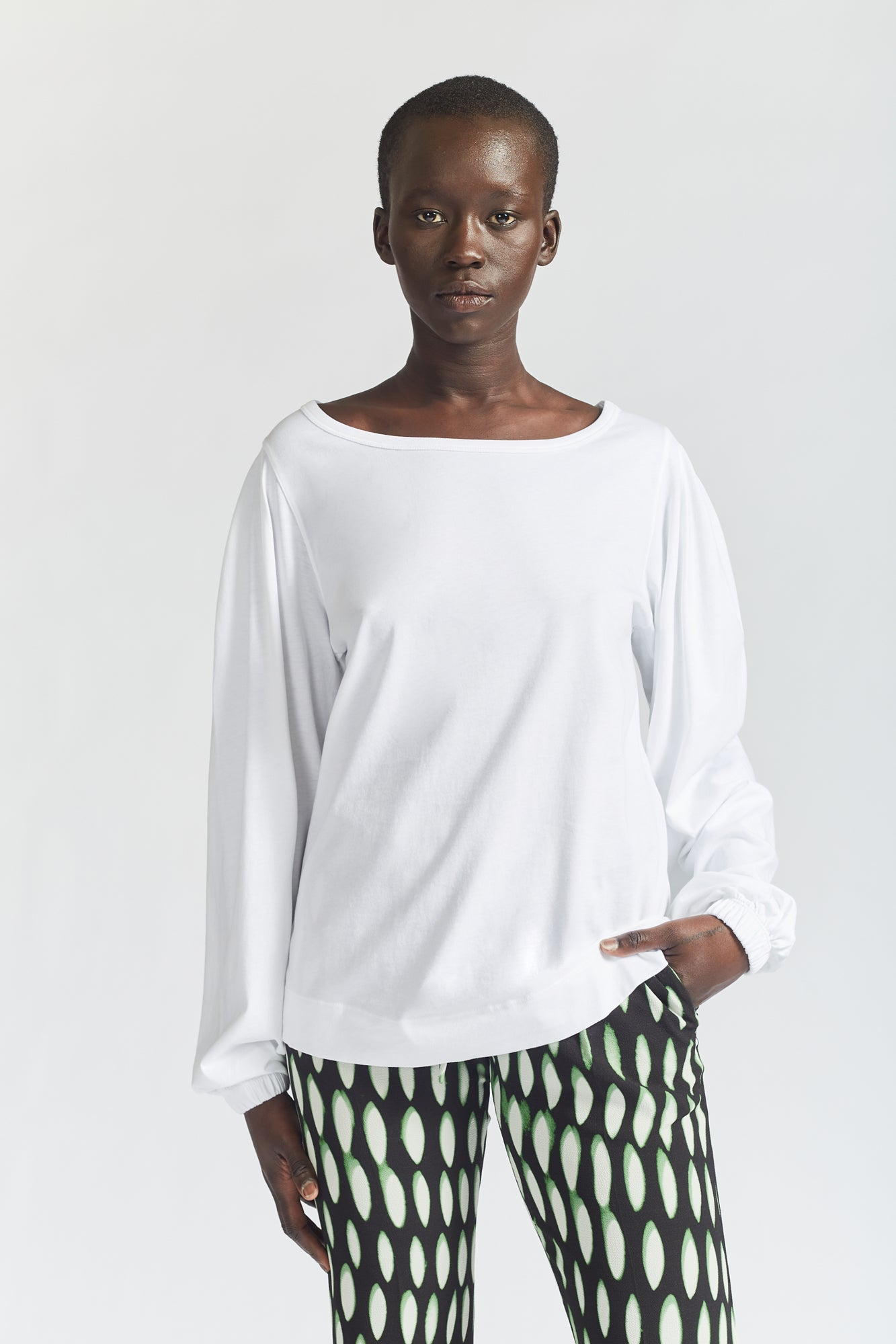 Dries Van Noten Hartley Top White