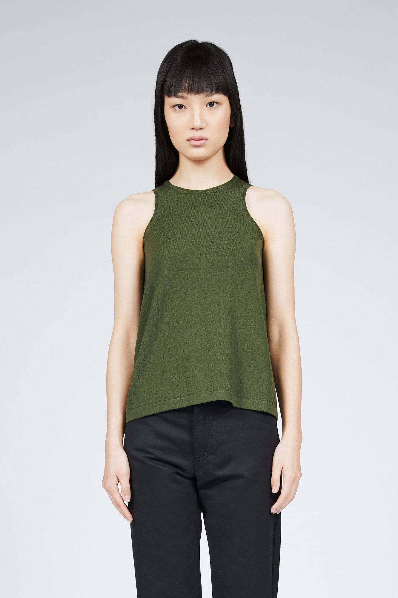 Haider Ackerman Top With Silk Back