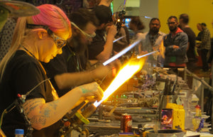 Glass Blowing My Mind - at Champs Trade Shows February 2019