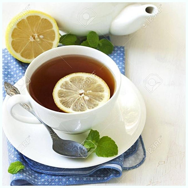 Buzzard Tea presents handcrafted gourmet Black blend Lemon Earl Grey