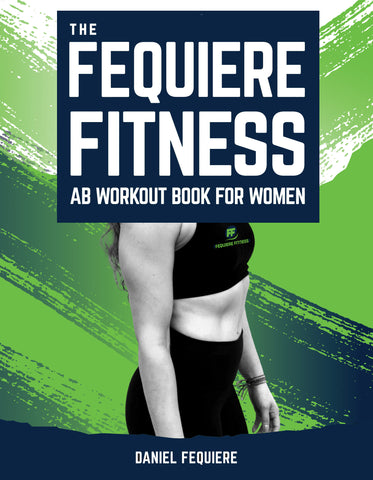 The Fequiere Fitness Ab Workout Book For Women