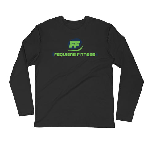 Fequiere Fitness - Long Sleeve Fitted Crew