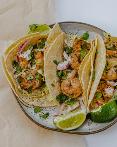 spicy cilantro lime tacos