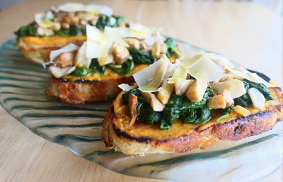 The Herb Somm's Winter Butternut Toast