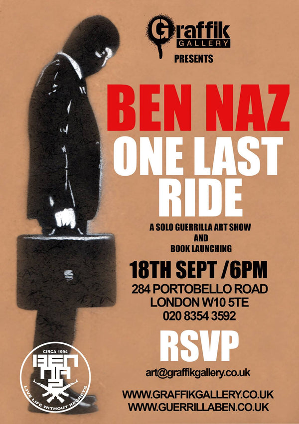 "BEN NAZ ""The Last Ride"""