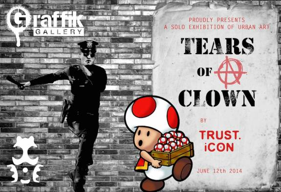 "TRUST.iCON ""Tears of clown"""