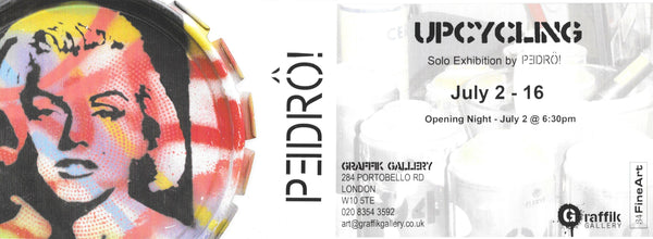 UPCYCLING - Solo Exhibition by Pedrô