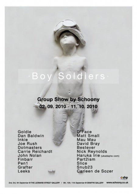 Schoony - boy soldier