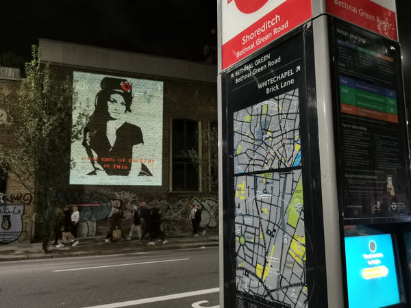 Amy Winehouse Camden Bambi Graffik Gallery
