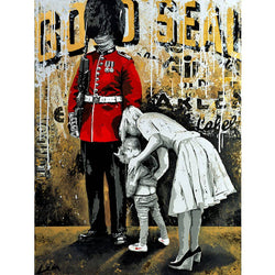 Graffik Gallery Alberto Leon - Gold Seal
