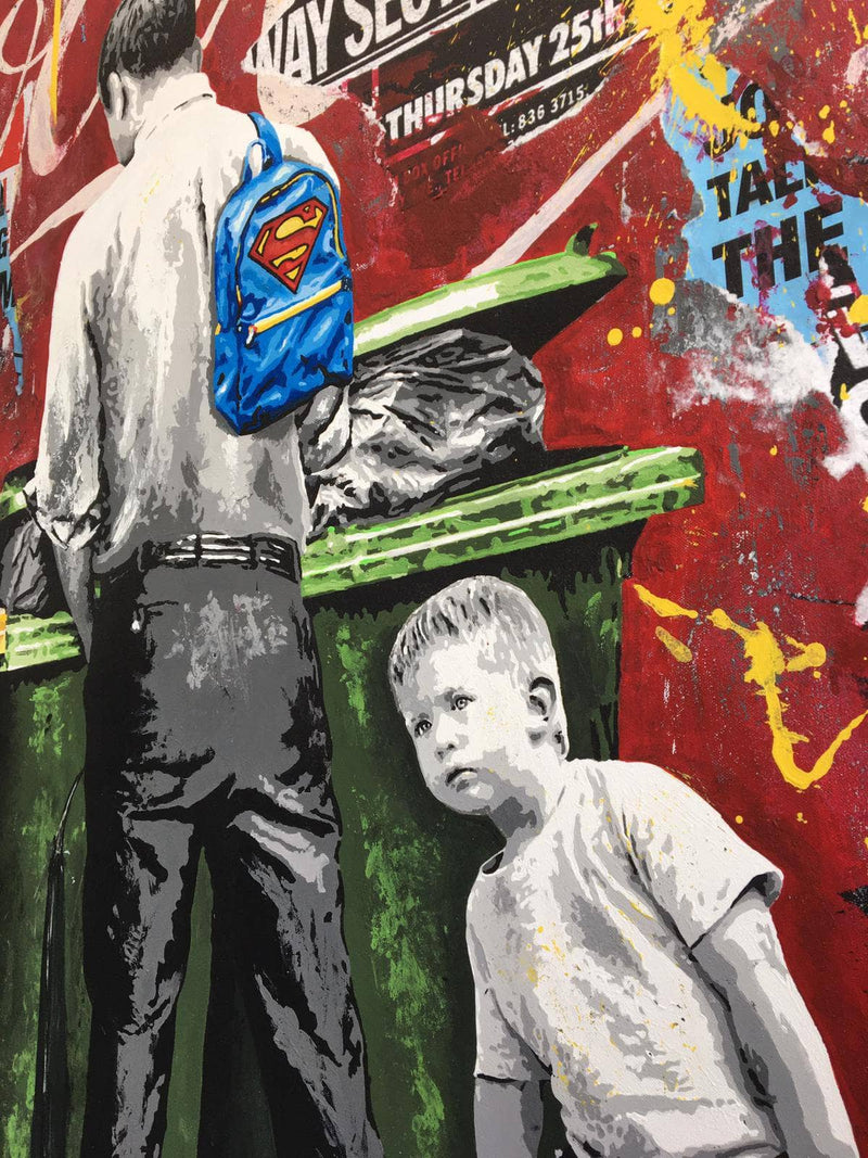 Graffik Gallery Alberto Leon - Superman