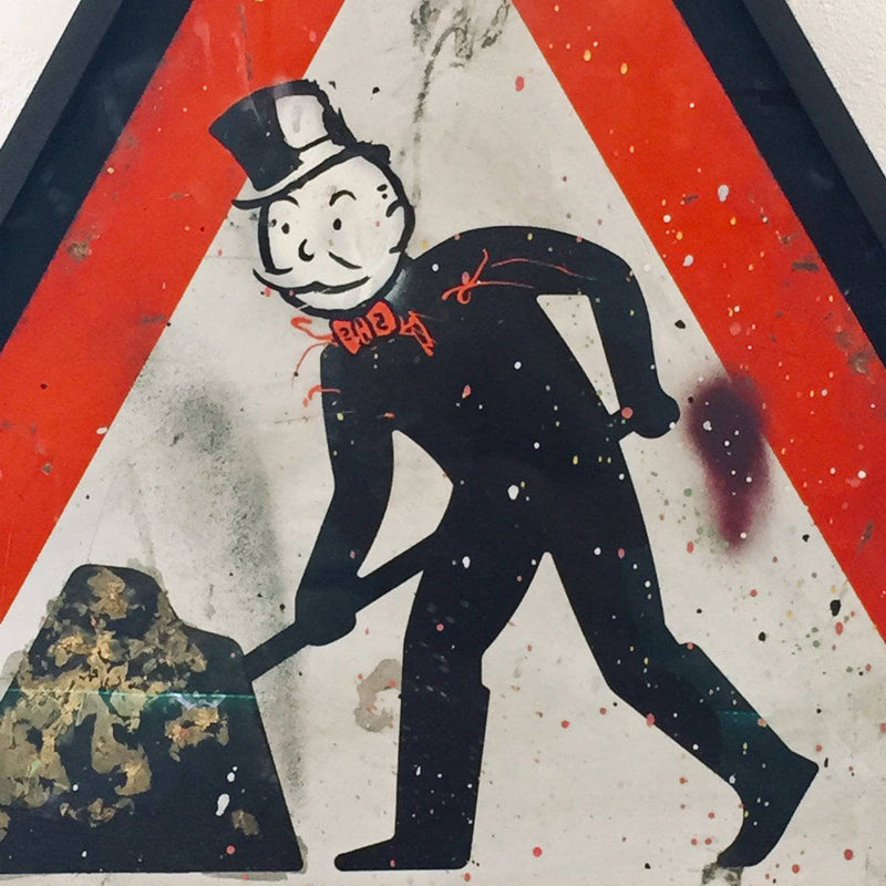 Graffik Gallery Alec Monopoly - Road Sign