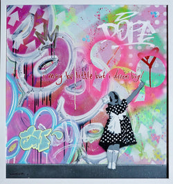 Graffik Gallery And Wot - I may be little but I dream big