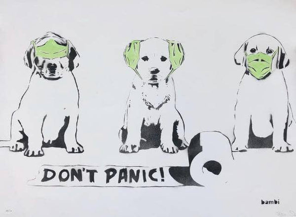 "Graffik Gallery Bambi - ""Don't Panic"""