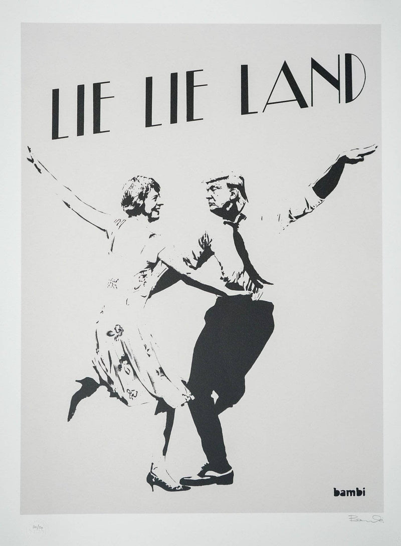 Graffik Gallery Bambi - Lie lie land